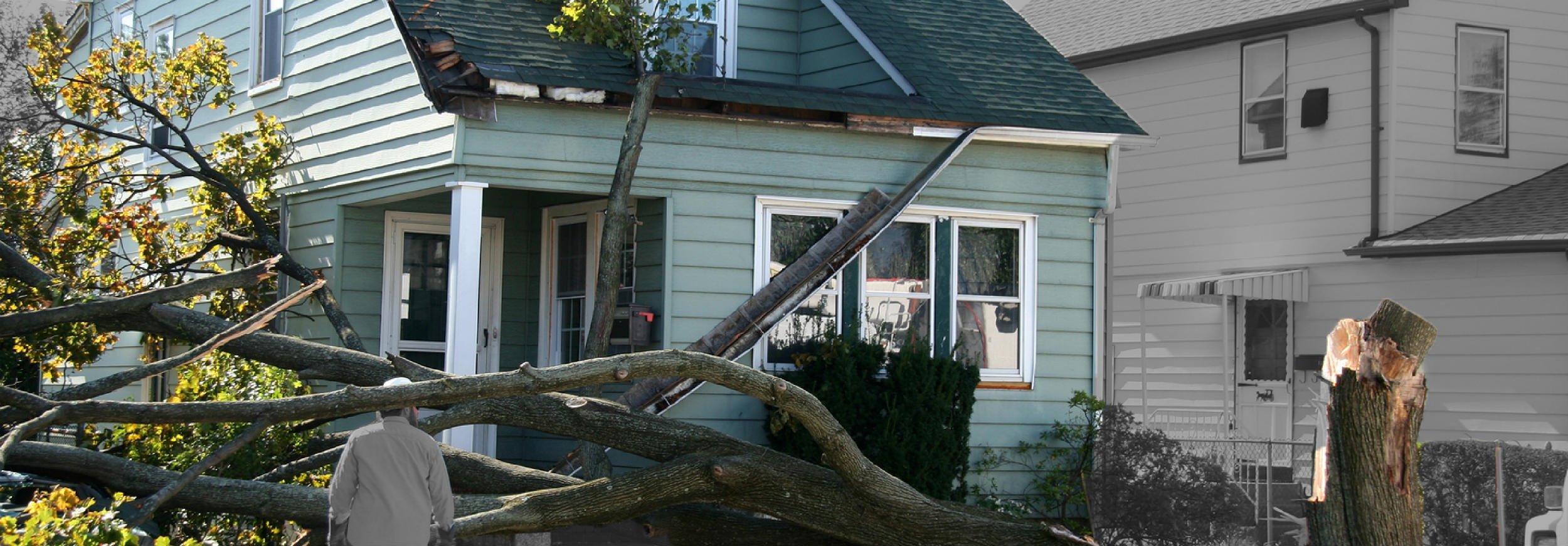 What should you do if you suspect storm damage? - Pic 1